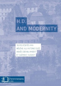 blue book cover of H.D. and Modernity essay collection