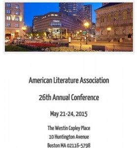 American Literature Association Conference Web Page Screen Shot