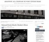 Screen shot of the City Lights Bookshop blog post of Monkey's Moon film